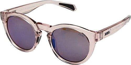 Zeal Optics Unisex Crowley Desert Rose/Polarized Horizon Blue Lens One - Zeal Warranty Sunglasses