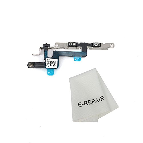 - Volume Button and Silent Switch Flex Cable with Brackets Preinstalled for iPhone 6