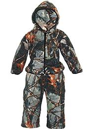 WFS Toddler And Infant Burly Camo 2 PC Fleece Jacket Pant Set