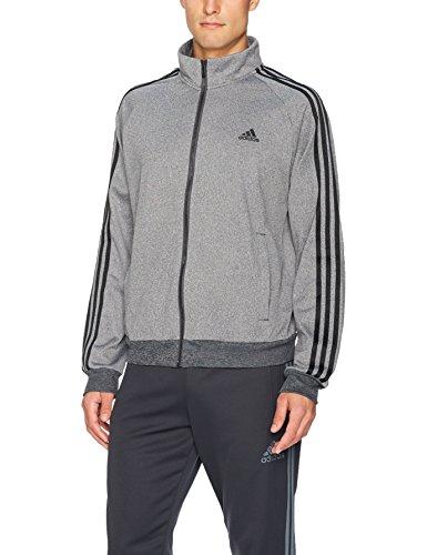 adidas Men's Essentials 3-Stripe Tricot Track