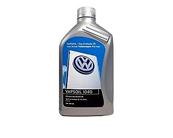 Volkswagen Aceite de Motor VW Vapsoil 10 W-40 4 l/50200 50500 1 litro: Amazon.es: Coche y moto