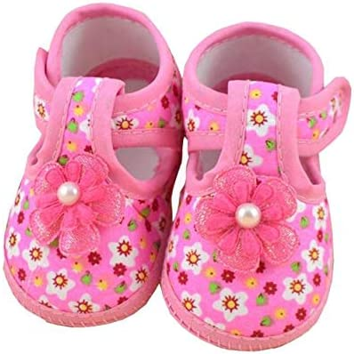 Trisee Sandalias para Bebé Niño Niña Suela Blanda Zapatillas estampadas florales Antideslizante Zapatos para Recién Nacido Primeros Pasos Caliente Botas de Algodón: Amazon.es: Ropa y accesorios