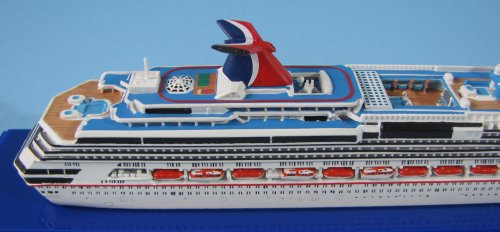 Amazoncom CARNIVAL SPLENDOR Cruise Ship Model In Scale - Toy cruise ship