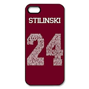 Perfect life store Teen Wolf Genim Stilinski 24 on Black Plastic case for iphone 5/5s
