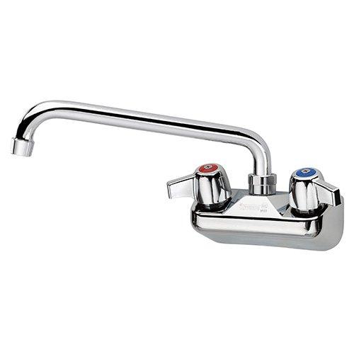 "Krowne Metal 11412L Replacement Faucet for Bar Sinks Deck Mount, Fits 22"" Sinks, 12"" Spout"