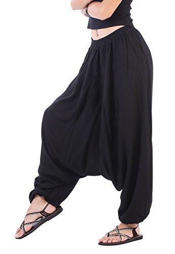 Black Harem Pants - 9