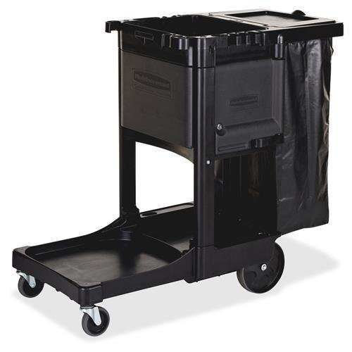 RCP1861430 - Rubbermaid Executive Janitor Cleaning Cart
