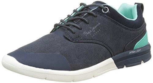 Pepe Jeans Herren Jayden Low Sneaker Blau (585marine)