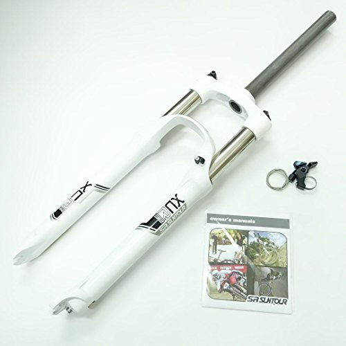 "SR Suntour XCR MTB Bike Fork RLC (26"", 1 1/8"", 100mm, Dis..."