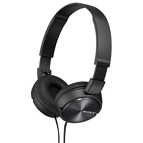 Sony Dynamic closed-type headphones MDR-ZX310-B Black