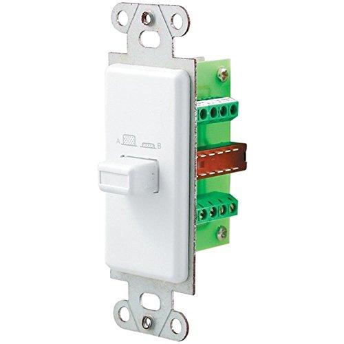 Brand New Pro-Wire Source/Speaker Switch (White)