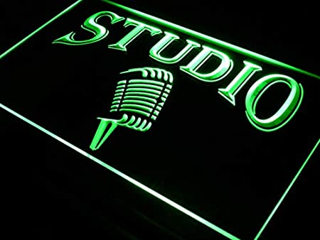 ADVPRO Cartel Luminoso i587-g Studio On The Air Microphone ...