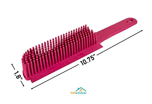 Evriholder 250I-180I-AMZ, FURemover Pet Hair Removal Broom and Lint Brush Combo with Squeegee and Telescoping Handle That Extends from 3-5' by Evriholder (Image #3)