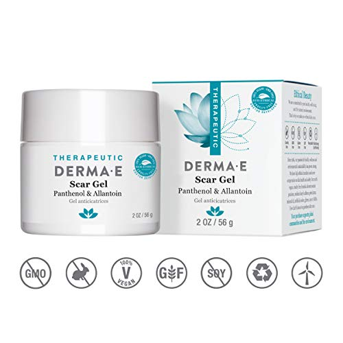 DERMA E Scar Gel, Helps Scarred Skin Heal, 2 oz (Best Non Surgical Cheek Lift)