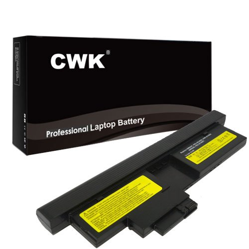 CWK New Replacement Laptop Notebook Battery for IBM Lenovo X201 Tablet Type 0053 0831 2985 3093 3113 3144 3239 IBM Lenovo ThinkPad X200 X201 Tablet 43R9257 43R9256 IBM Lenovo ThinkPad X200 X201 Tablet 43R9257 43R9256 2047 Lenovo 43R9257 FRU 42T4657 42T4658 ThinkPad X201t Tablet