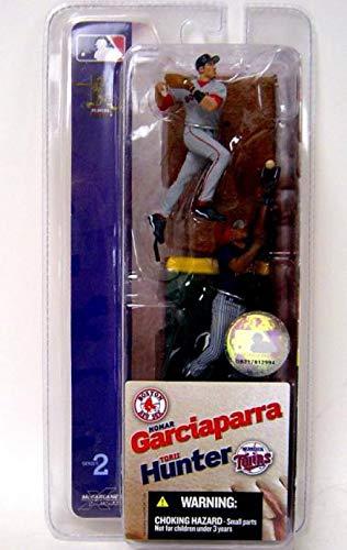 McFarlane Toys MLB 3 Inch Sports Picks Series 2 Mini Figure 2Pack Nomar Garciaparra (Boston Red Sox) & Torii Hunter (Minnesota Twins)