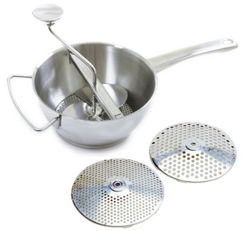 Norpro Ricer (Norpro 595 Food Mill Ricer Strainer 2qt with 2 Discs 18/10 Stainless Steel)