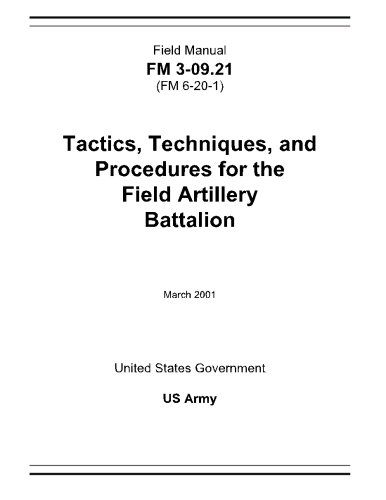 Download Field Manual FM 3-09.21 (FM 6-20-1) Tactics, Techniques, and Procedures for the Field Artillery Battalion March 2001 ebook