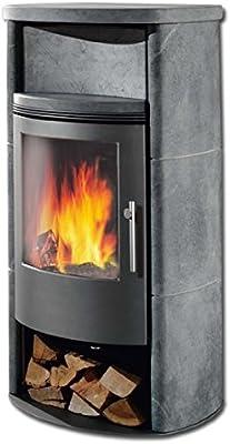 GKT chimenea CENTURO esteatita 7,0 kW horno estufa de leña horno ...