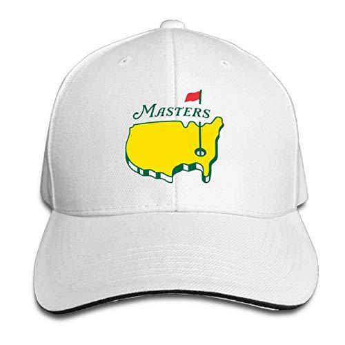 - KEEPDACEM Mastters 2019 Golf Logo Baseball hat Caps Unisex White
