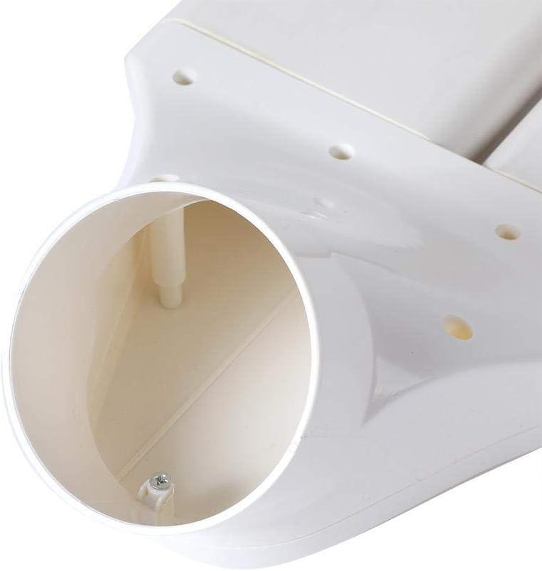Adaptador de Conector de conducto Ventilaci/ón hidrop/ónica de tuber/ía 75mm East buy Accesorios para conductos Planos
