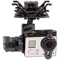 Tarot T4-3D TL3D02 Dual Shock-Absorber Gimbal 3-axis PTZ For Gopro Hero4/3+/3