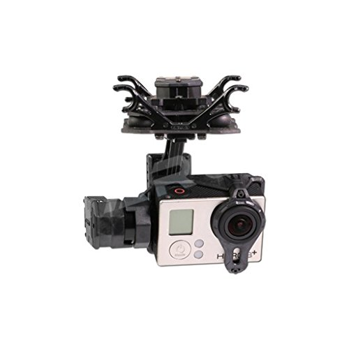 (Tarot T4-3D TL3D02 Dual Shock-Absorber Gimbal 3-axis PTZ for Hero4/3+/3)
