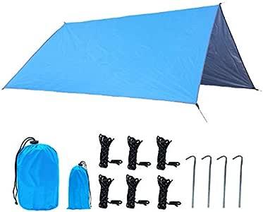Noblik - Tienda de campaña antirayos UV Ultraligera para Playa, toldo pérgola 210D, Tela Oxford, Lona para Camping: Amazon.es: Deportes y aire libre