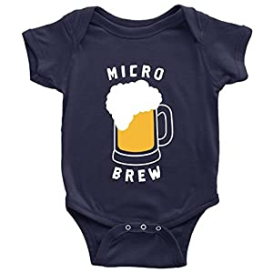 Micro Brew One-Piece Cute Beer Craft Beer Father Brewers Baby Bodysuit