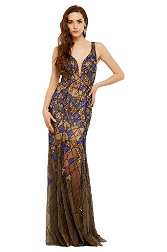 Festkleid Ballkleid M Ivydressing Lage Damen Promkleid Partykleid der Abendkleid Auf Hochwertig v0wBqv68