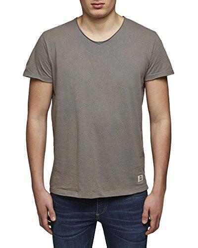 Jack & Jones Herren T-Shirt Backer Tee 12084374 grau