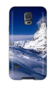 Rugged Skin Case Cover For Galaxy S5- Eco-friendly Packaging(matterhorn Valais Switzerland)