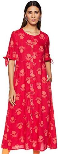 Amazon Brand – Myx Women's Regular Kurta Dress