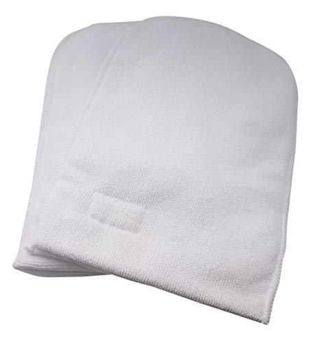 (Paraffin Bath Mitts for Wax Treatment Microfiber Soft Thermal Mittens for Insulating and Retaining Heat - Any Hand Size 1 Pair by Mess )