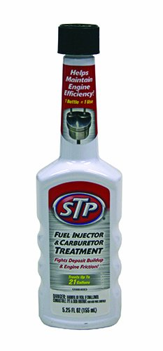 STP Fuel Injector & Carburetor Treatment + Upper Cylinder Lubricant (5.25 fl. oz.) (Case of 12)