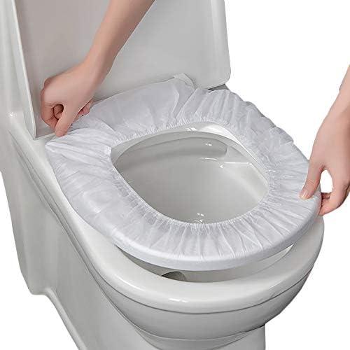 使い捨てトイレパッドマタニティトラベル防水増粘 長くする旅行ホテル防水トイレカバー クッション紙 5ピース