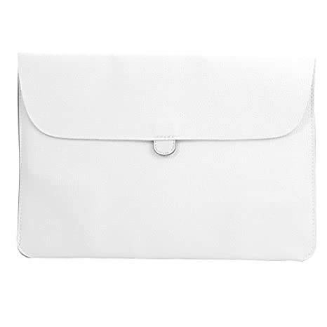 Amazon.com: DealMux Carrying Case Portátil Forma Bolsa Envelope Tablet Sleeve Bag Branco para Macbook 13.3inch: Electronics