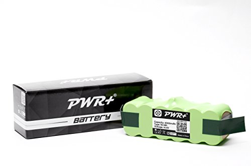Pwr+ 4000mAh Replacement-Battery for Irobot-Roomba 600 700 800 900 Series 610 614 620 630 650 655; Professional 611 625 Pro 627 653 Pet 654 655 660 670 760 770 780 790 860 870 880 980 80501 Vacuum