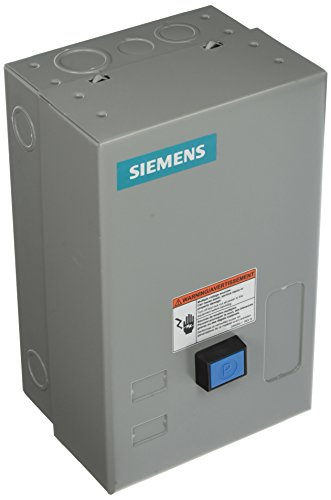- Siemens 14CP12BF81 Heavy Duty Motor Starter, Ambient Compensated Bimetal Overload, Manual/Auto Reset, Open Type, NEMA 1 General Purpose Enclosure, Single Phase, 2 Pole, 0 NEMA Size, 18A Contactor Amp Rating, 120 Separate Control at 60Hz Coil Voltage