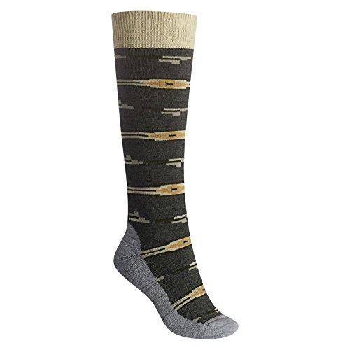 Burton Women's Shadow Socks, Faded Heather, Small/Medium -