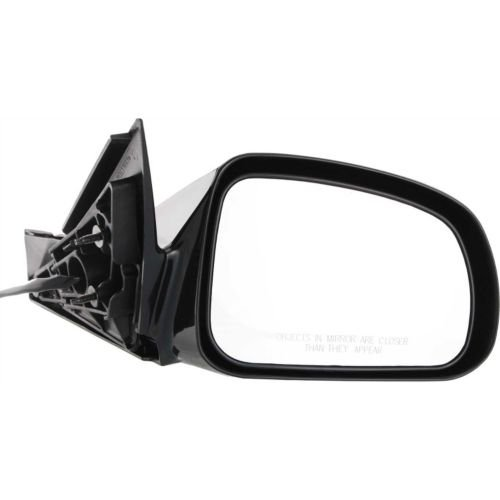 Make Auto Parts Manufacturing - Right Side Mirror For 04-08 Pontiac Grand Prix View Mirror, Power, Non-heated Passenger Side Rear View Mirror, Black Textured – GM1321279