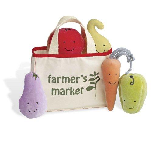 North American Bear Company Garden Hop Vegetable Tote Bag, Baby & Kids Zone