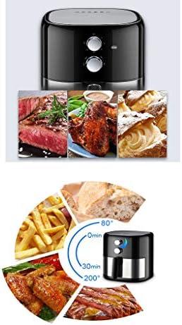 Friteuse multifonctionnelle Fryer Air Home Multifonctions 3.8L de Grande capacité sans Huile Fries Faible teneur en Gras Machine Air Fryer santé