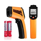 Snoblass Infrared Laser Thermometer Gun, -58℉- 750℉(-50℃ - 400℃)Non-Contact Digital Temperature Gun with HD LCD Display