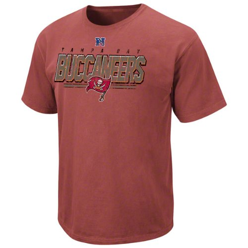 Tampa Bay Buccaneers Vintage Roster II T Shirt by VF-Pigment Red (S)