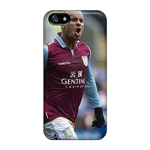 Iphone 5/5s Case Cover Skin : Premium High Quality The Popular Football Club Aston Villa Case
