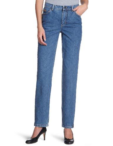 Eddie Femme Tapered Bleu Jeans Bauer Stonewashed 21007001 rIz8xrfw
