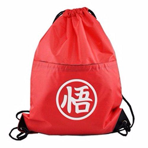 rare Schultertasche Tasche Shoulder Bag Rucksack reisetaschen Weiß Rot Dragon Ball new