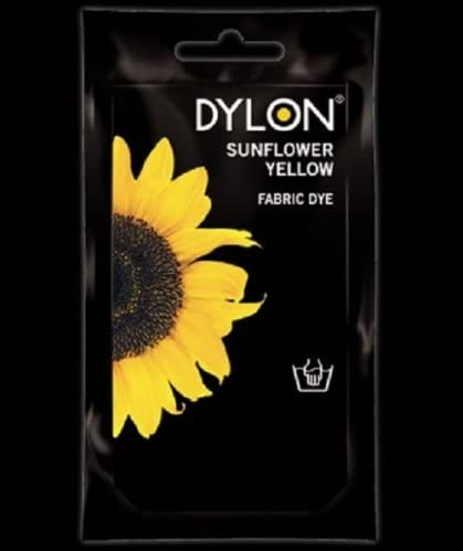 Dylon - Tinte para ropa, color amarillo girasol: Amazon.es: Hogar