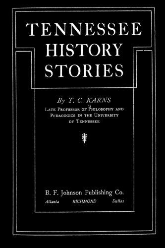 Download Tennessee History Stories pdf epub